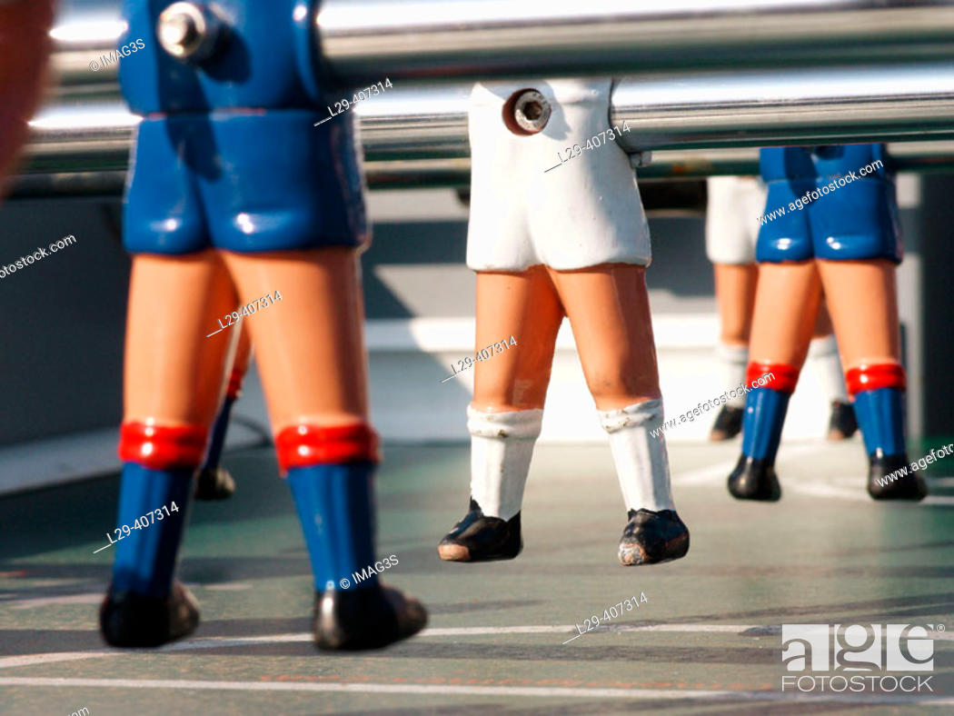 Imagen: Table football, detail.