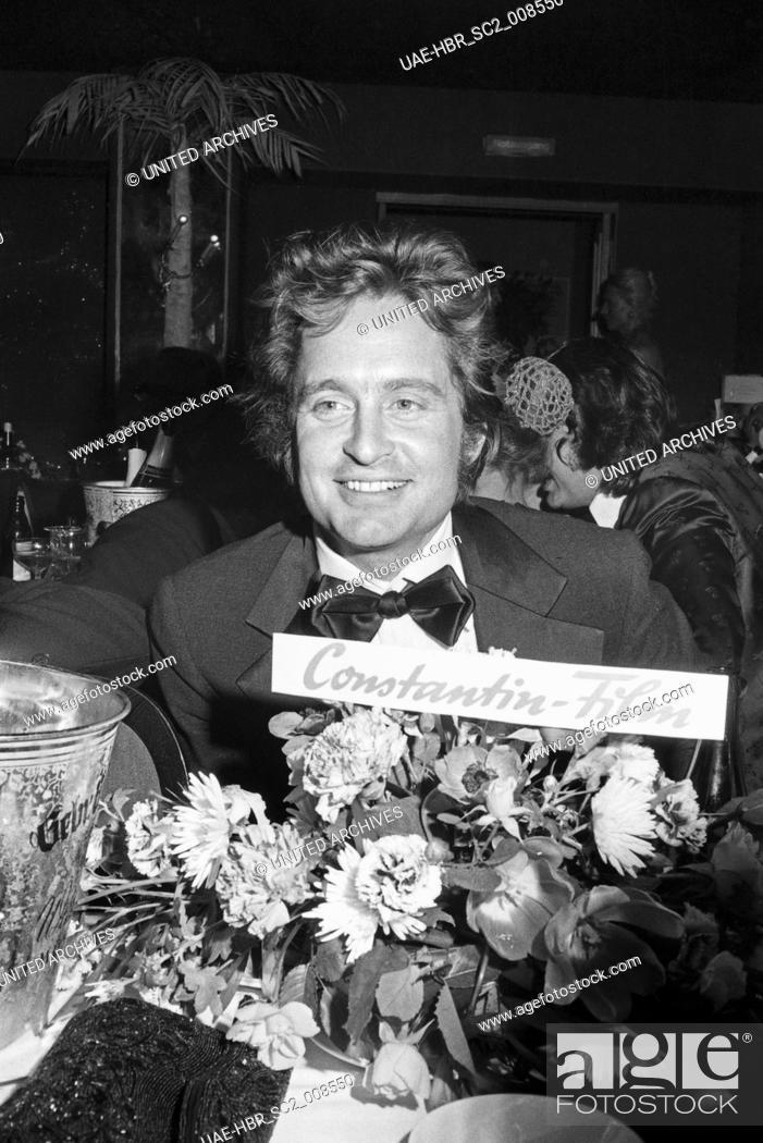 Imagen: Der amerikanische Schauspieler Michael Douglas beim SPIO Filmball in München 1976, Deutschland 1970er Jahre. American actor Michael Douglas at the SPIO Filmball.