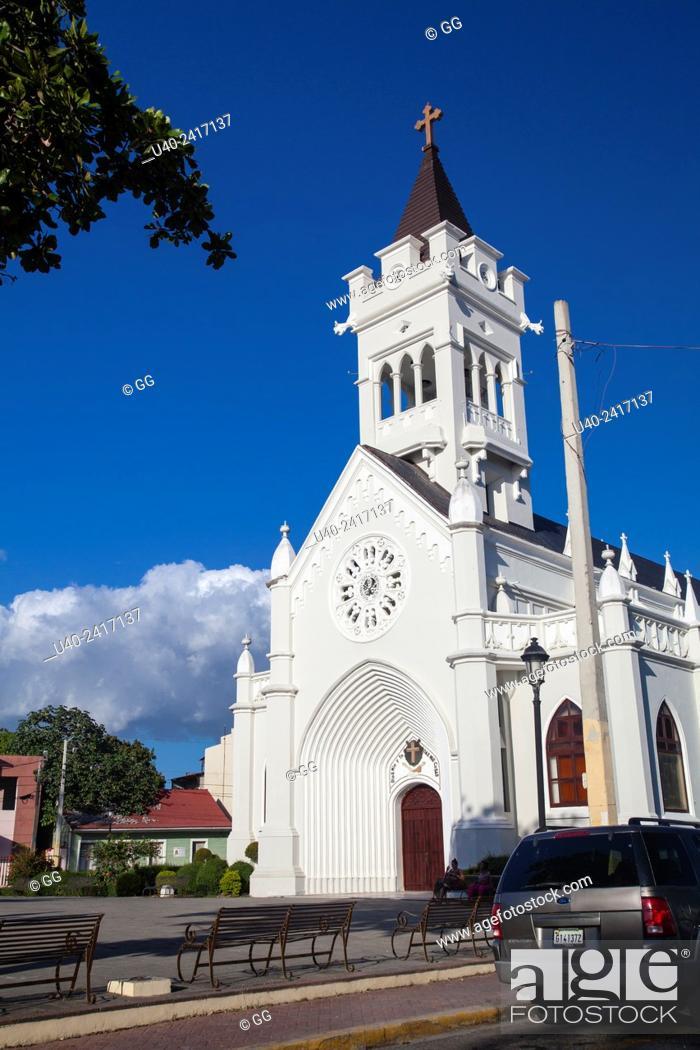 Stock Photo: Dominican Republic, Santo Domingo, church.