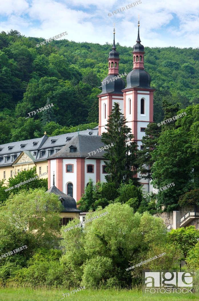 Stock Photo: Kloster Oberzell, Würzburg, Germany.