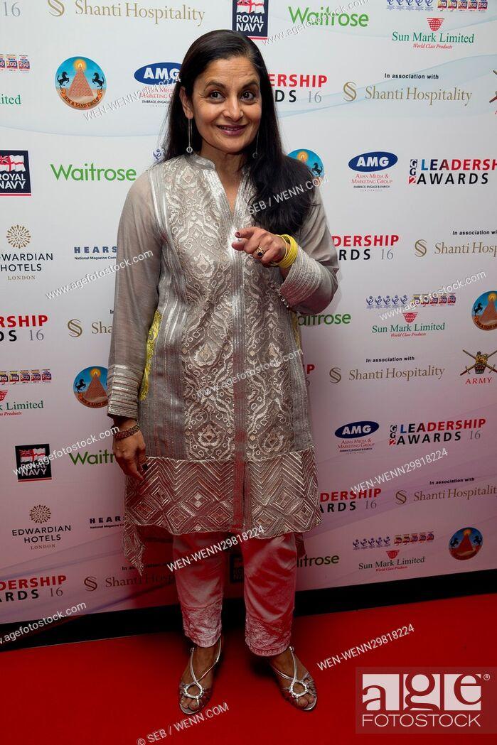 Imagen: GG2 Leadership Awards - Arrivals Featuring: Sudha Buhcatar Where: London, United Kingdom When: 20 Oct 2016 Credit: Seb/WENN.com.