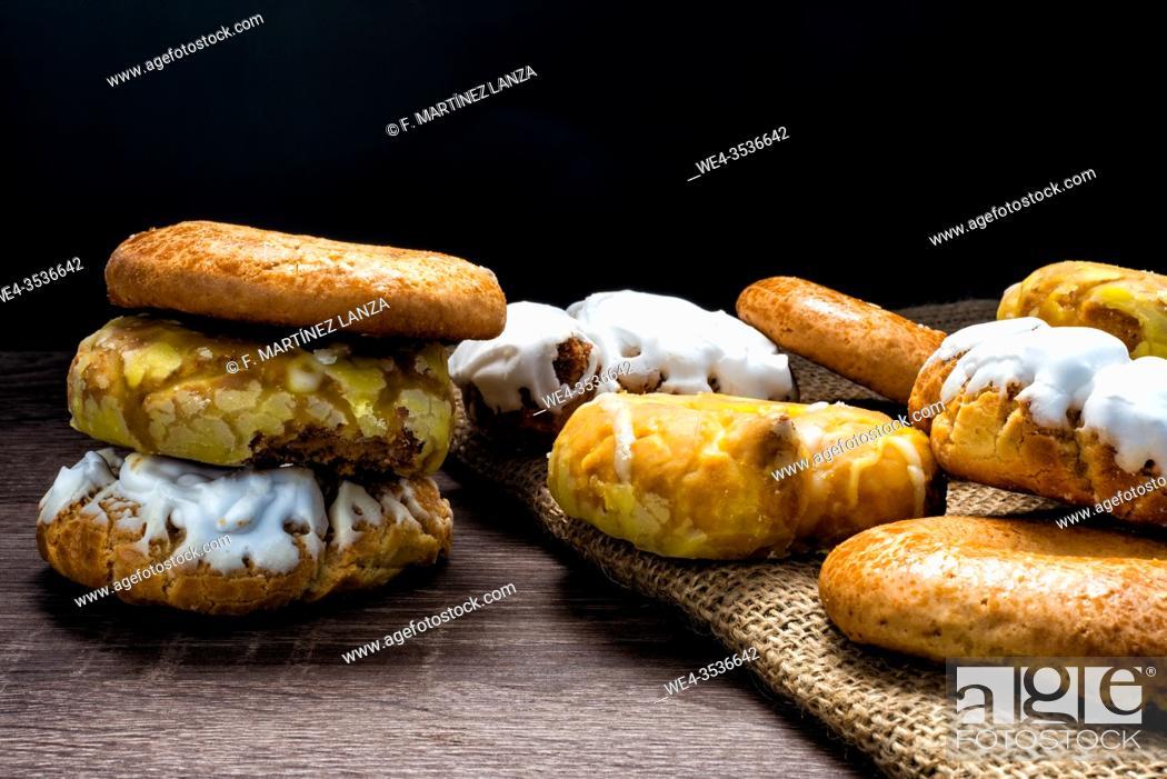 Stock Photo: Donuts of San Isidro.
