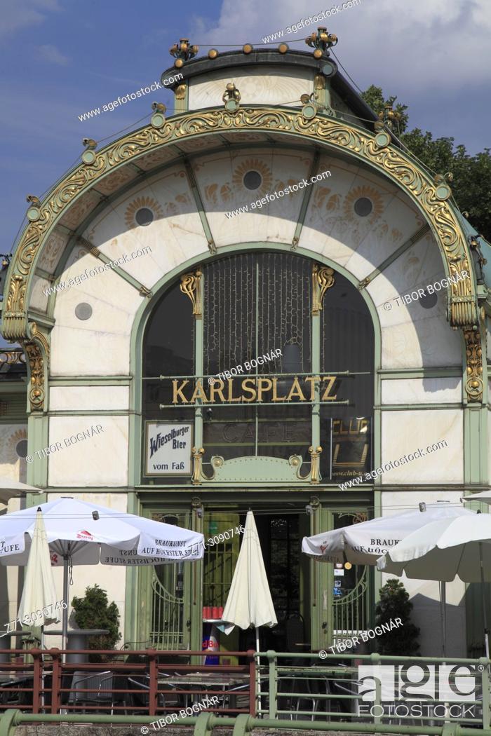 Imagen: Austria, Vienna, Karlsplatz, .