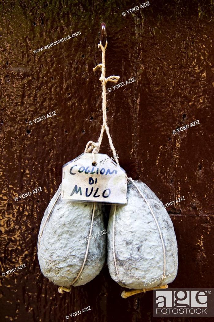 Stock Photo: Traditional food, Spello, Perugia province, Umbria.