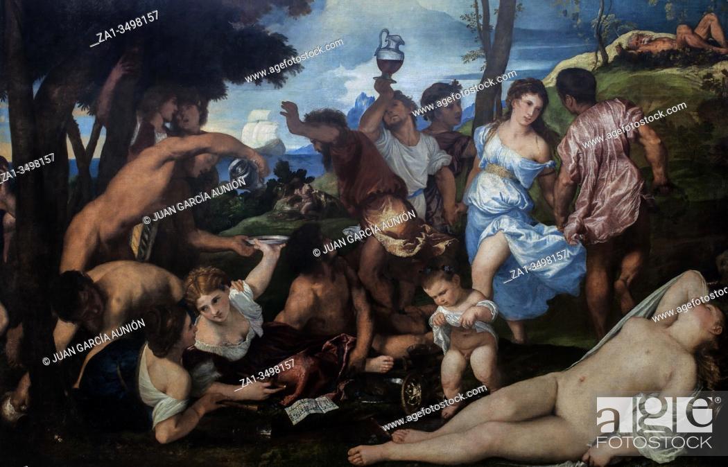 Imagen: The Andrians, 1526. By Titian. Museo del Prado, Madrid.
