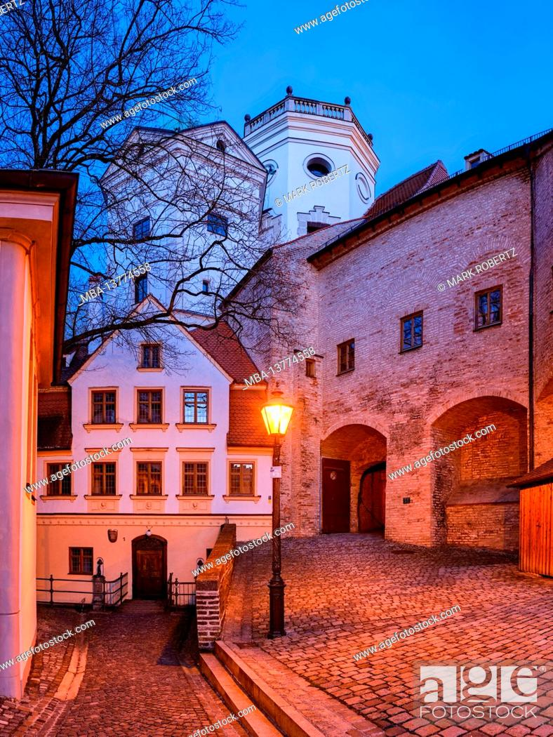 Imagen: Brunnenmeisterhaus, water tower, red gate, city wall, clinker wall, brick wall, wall, city wall, place of interest, historical place of interest.