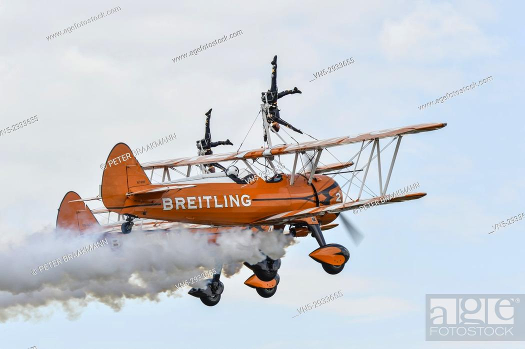 Stock Photo: Airport Breda VSV Airshow.