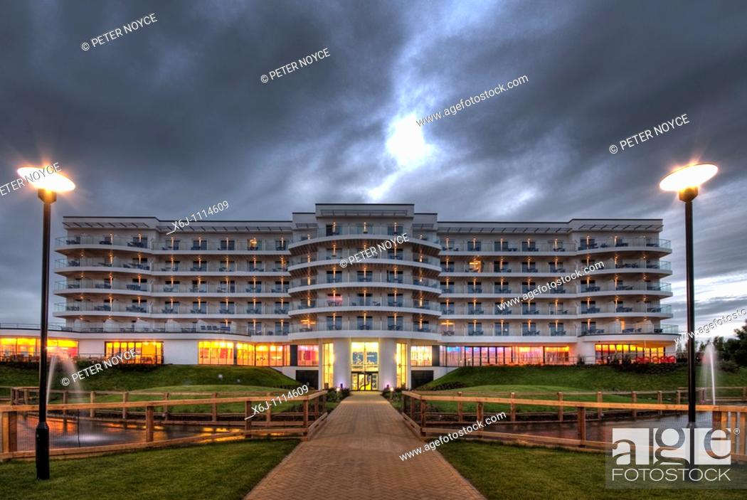 Stock Photo: Exteriors of Ocean Hotel, Butlins Bognor Regis.