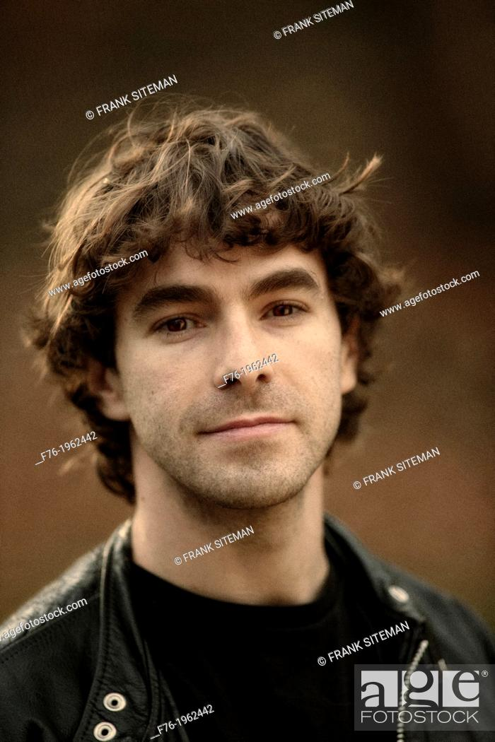 Stock Photo: Male, musician, portrait, young.