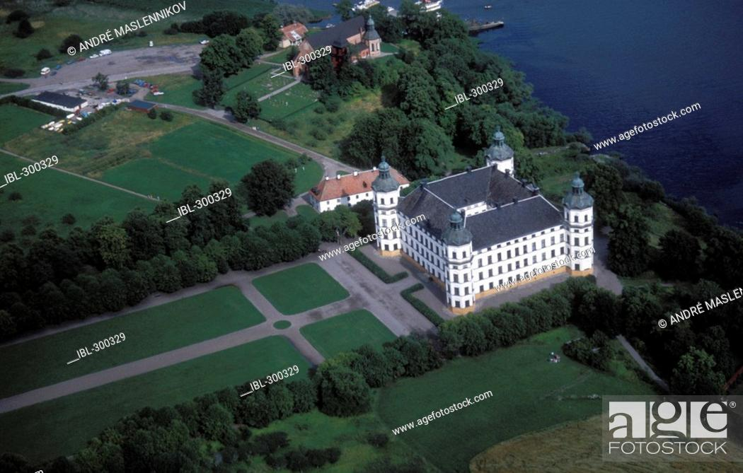 Stock Photo: Skokloster castle, Sweden.