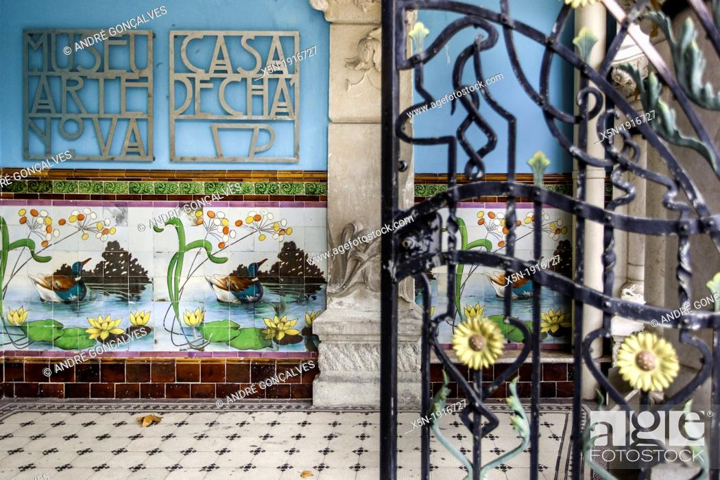 Stock Photo: Arte Nova Museum.
