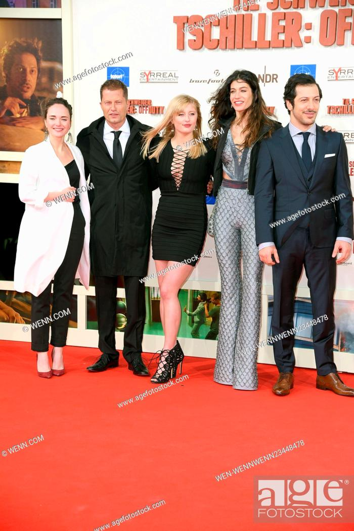 Premiere Tschiller Off Duty At Zoopalast Featuring Alyona