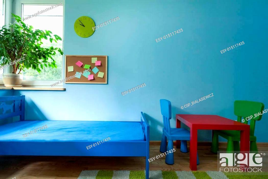 Stock Photo: Interior of child room.