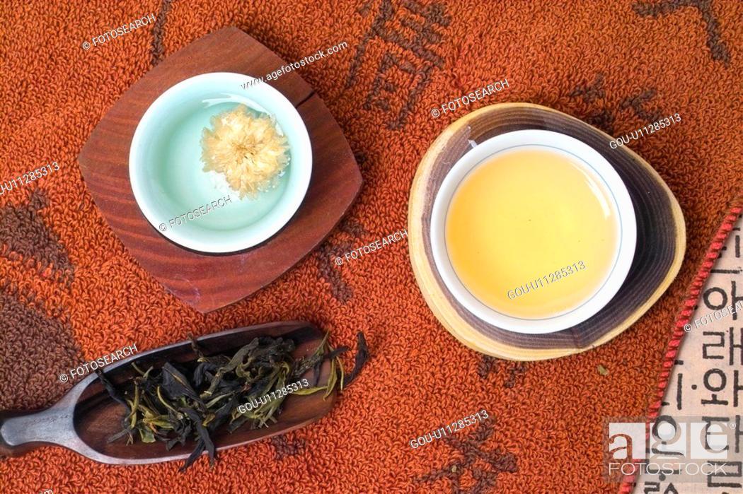 Stock Photo: beverage, well-being, cuisine, food, wellbeing, drink, tea.