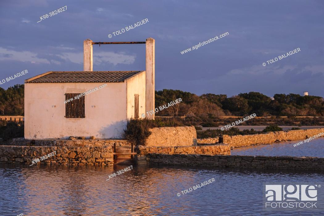 Imagen: Parc Natural de Ses Salines dâ. . Eivissa i Formentera, Formentera, Pitiusas Islands, Balearic Community, Spain.