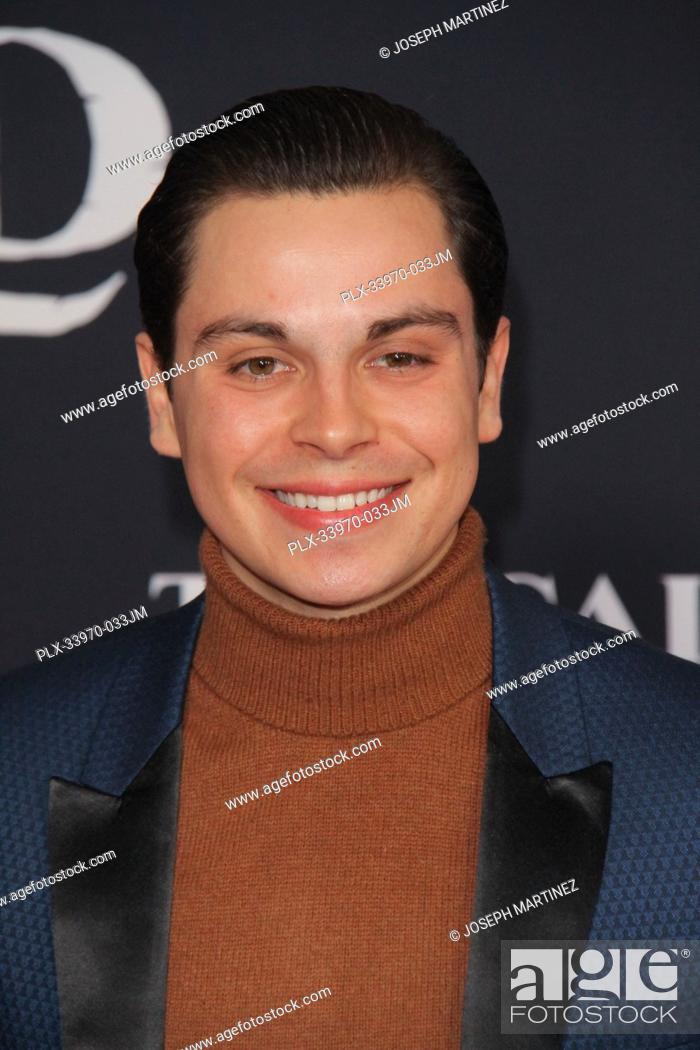 """Stock Photo: Jake T. Austin at """"""""The Call Of The Wild"""""""" World Premiere held at El Capitan Theatre in Los Angeles, CA, February 13, 2020."""