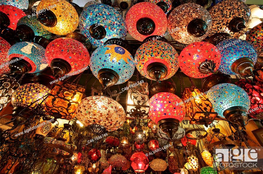 Photo de stock: Grand Bazaar  Istanbul  Turkey.