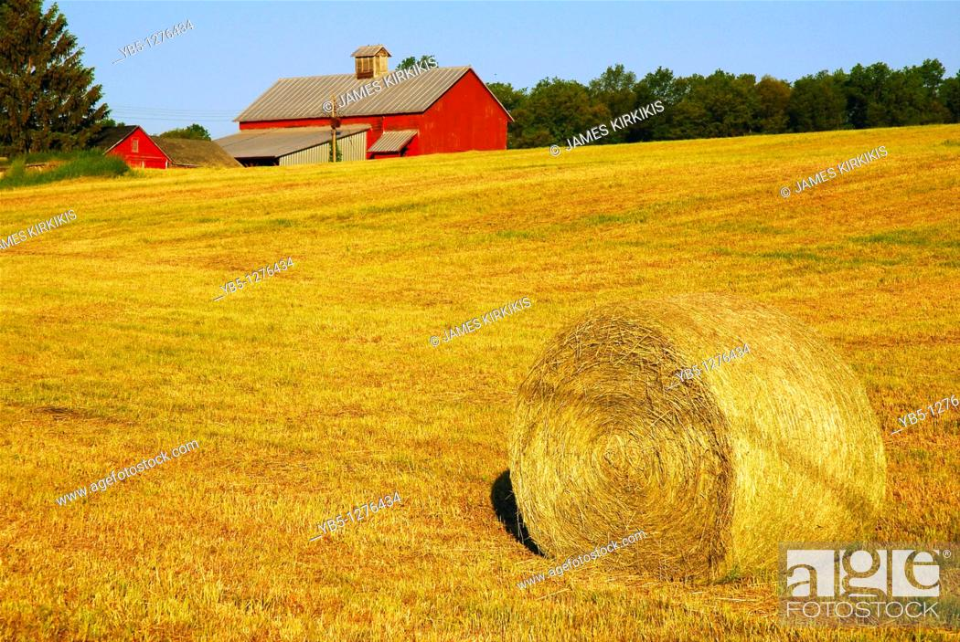 Stock Photo: Country Scene, Hudson Valley.