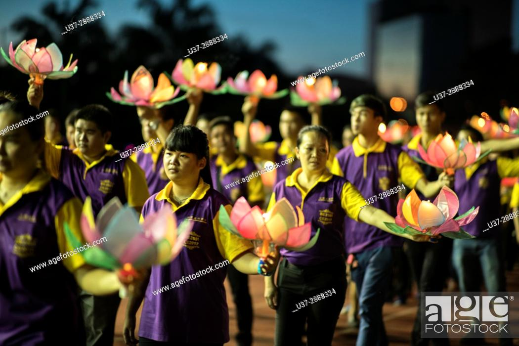 Imagen: 2017 Wesak Day Celebrations in Kuching, Sarawak, Malaysia.