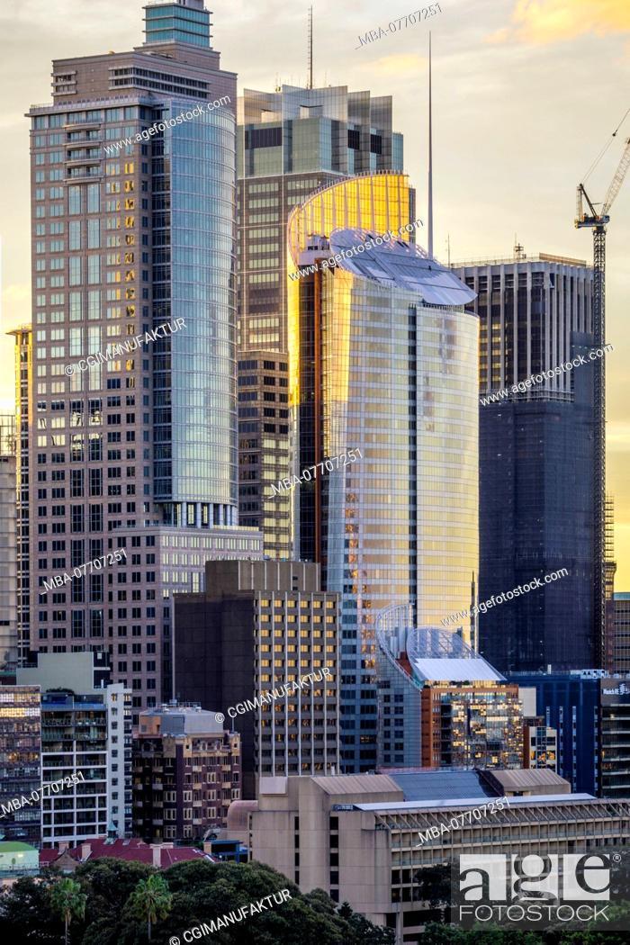 Stock Photo: Sydney skyline.