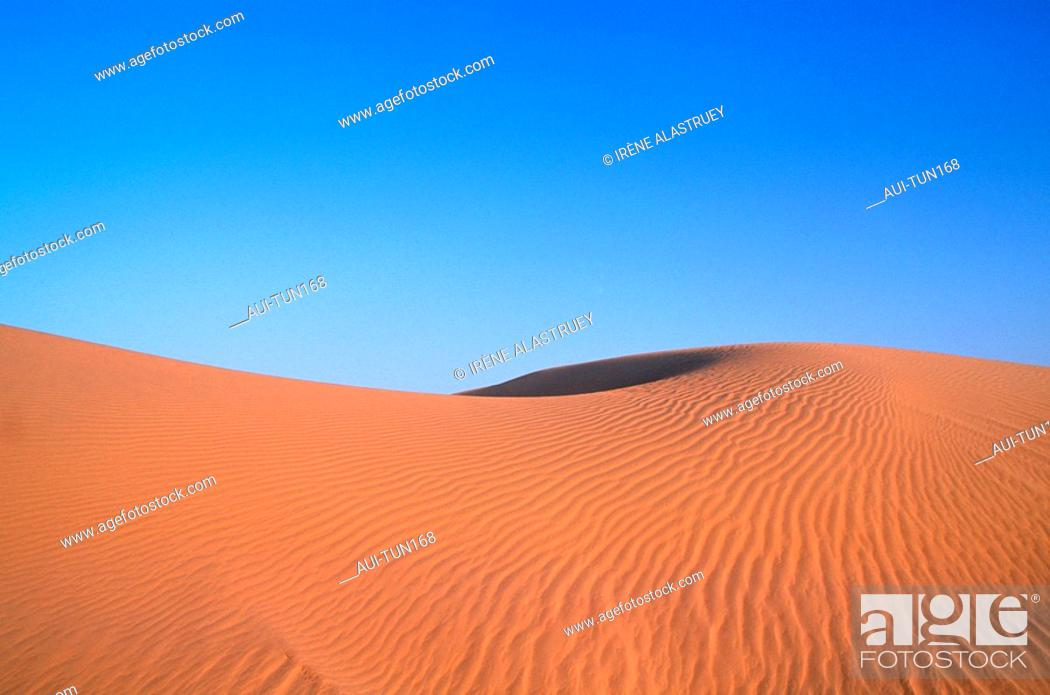 Stock Photo: Tunisia - The South - Nefta - Onk Jemel Site.