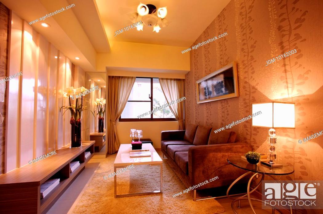 Stock Photo: Interior Design, Living Room.