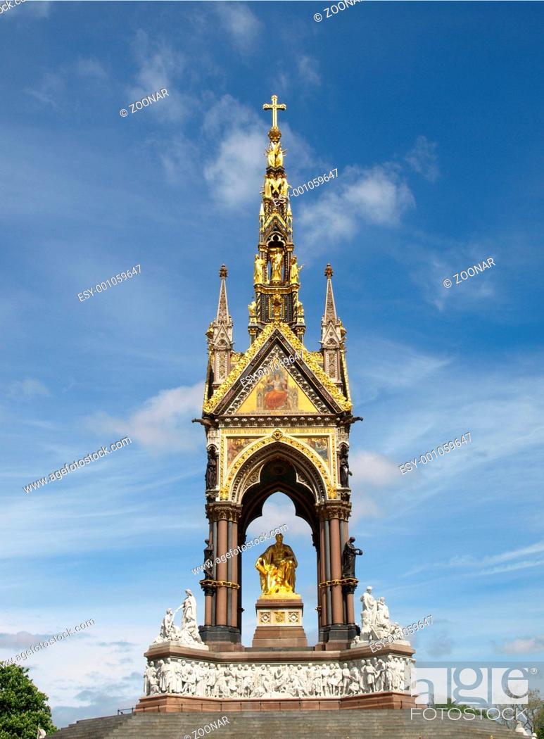 Stock Photo: Albert Memorial, London.