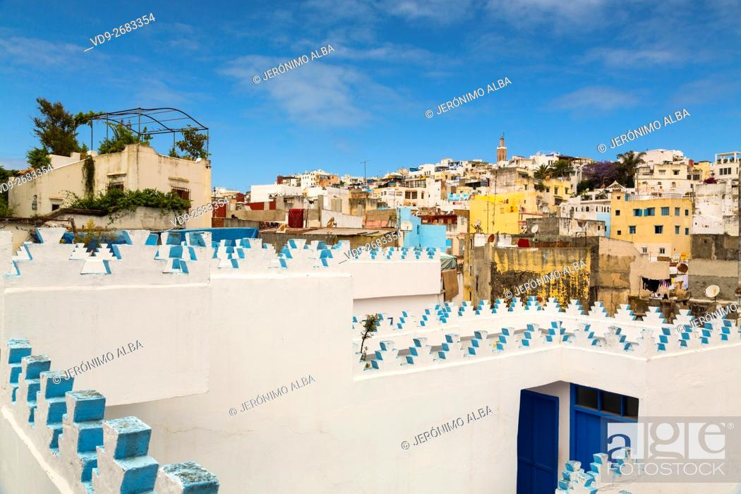 Stock Photo: Medina, old city Tangier. Morocco Africa.