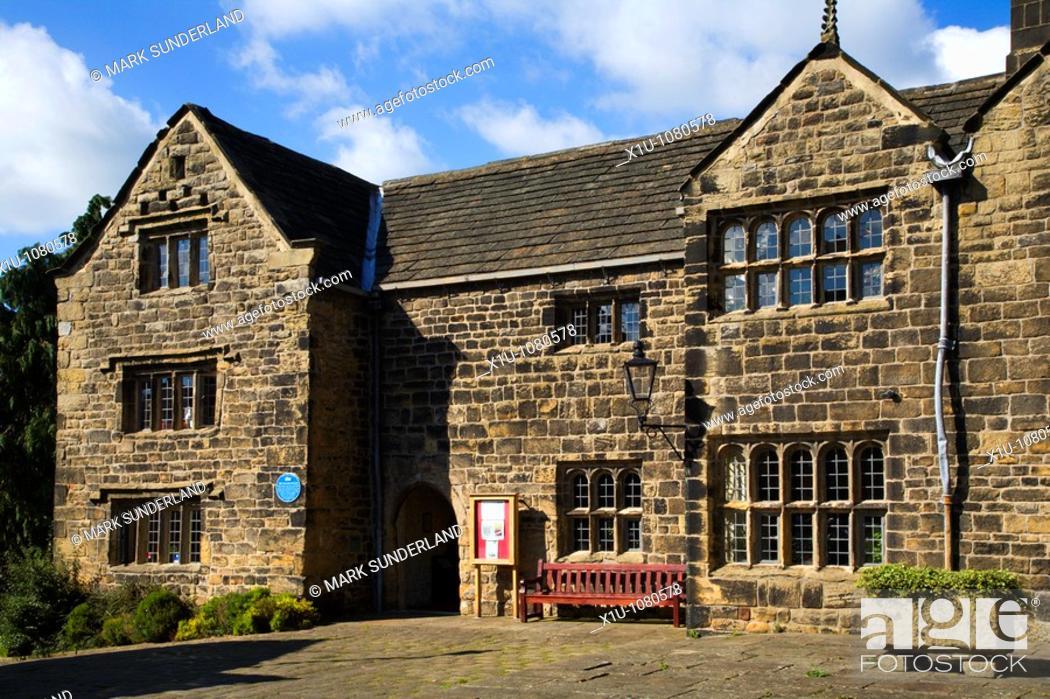Stock Photo: The Manor House Ilkley West Yorkshire England.