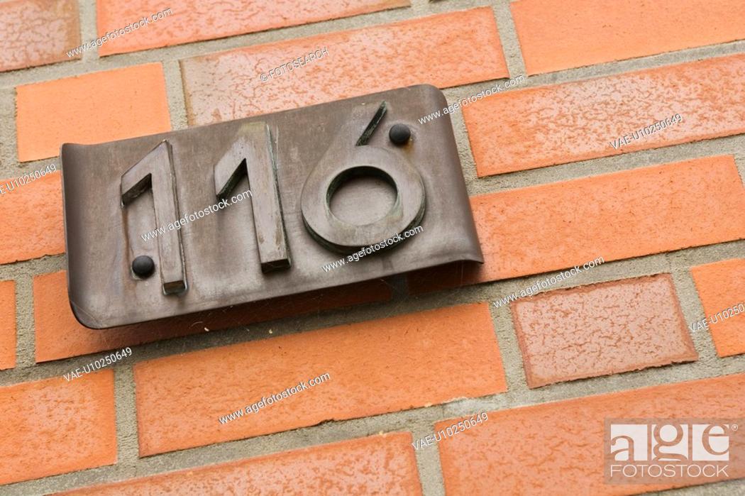 Stock Photo: Brick, Day, Close-Up, Brick Wall, 116.