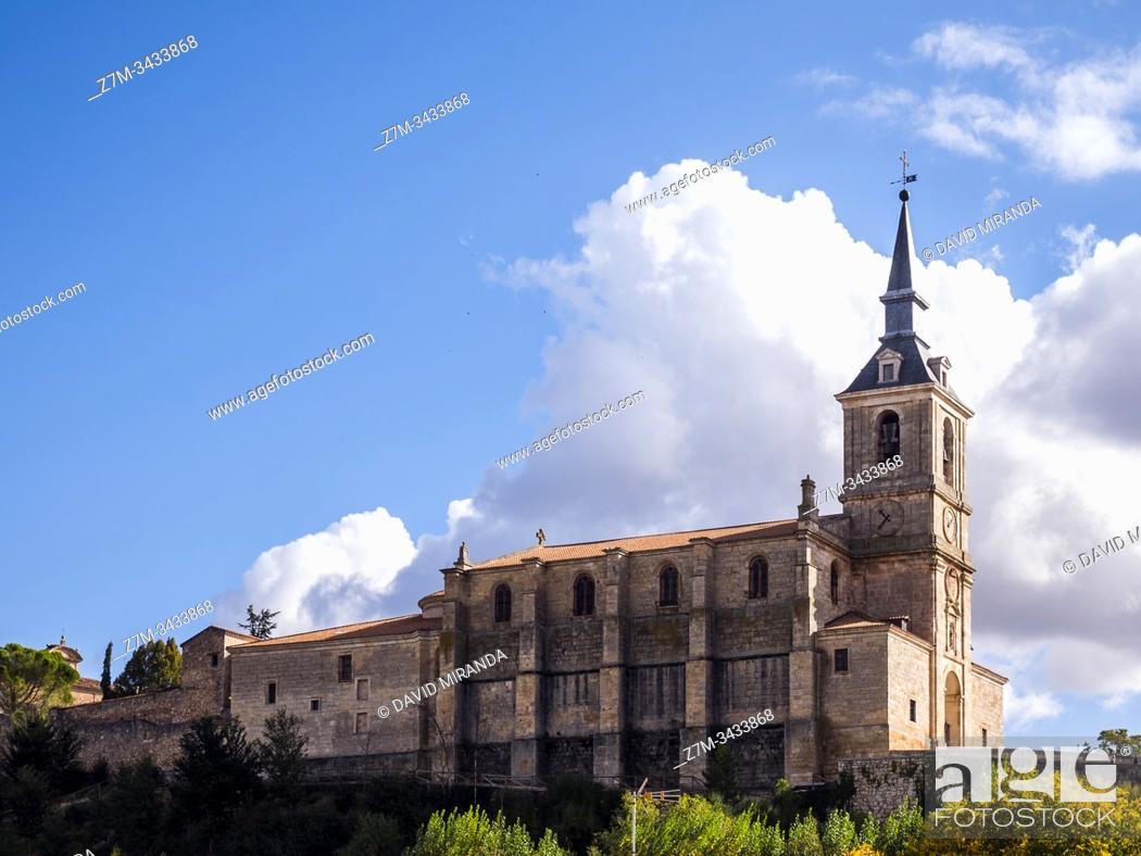 Stock Photo: Colegiata de San Pedro. Lerma. Burgos. Castilla León. España.