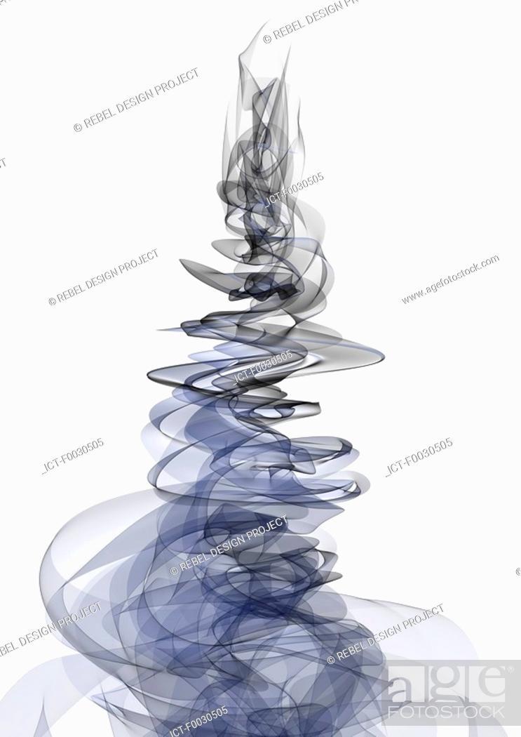 Stock Photo: Digital creation: fluid.