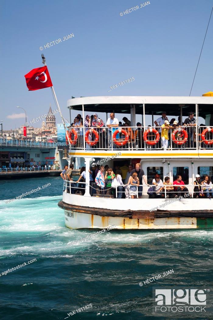 Stock Photo: Tourist Ship.