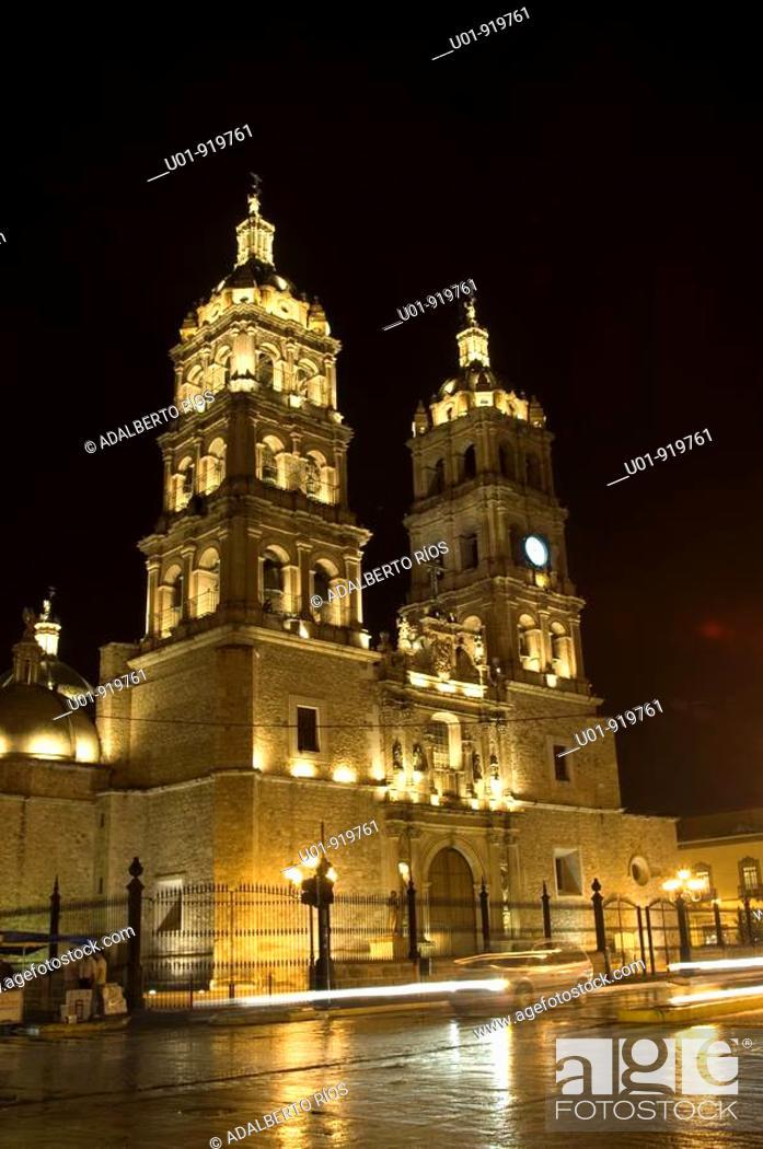 Stock Photo: Catedral Basílica de Durango. Mexico.