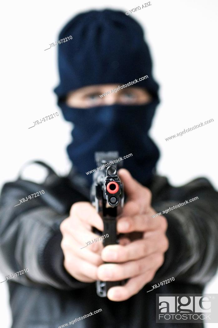 Stock Photo: Robber.