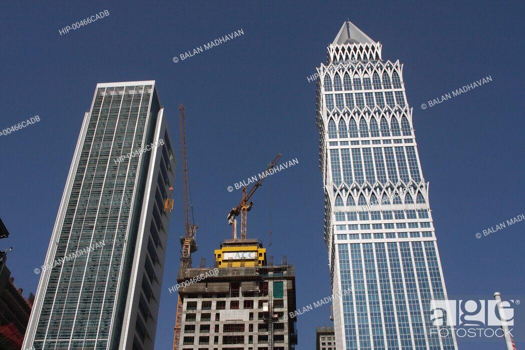 Imagen: HIGHRISE BUILDINGS IN DUBAI, UAE.