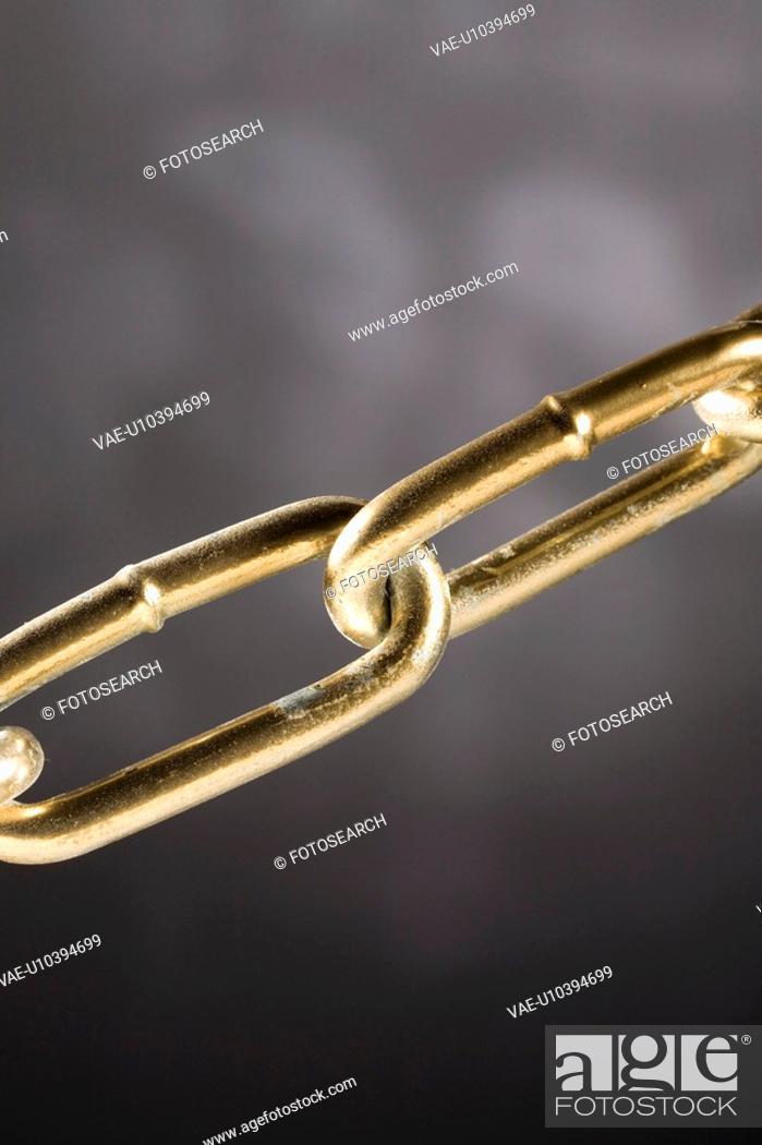 Stock Photo: bond, bonded, bonding, chain, close, closeup, connection.