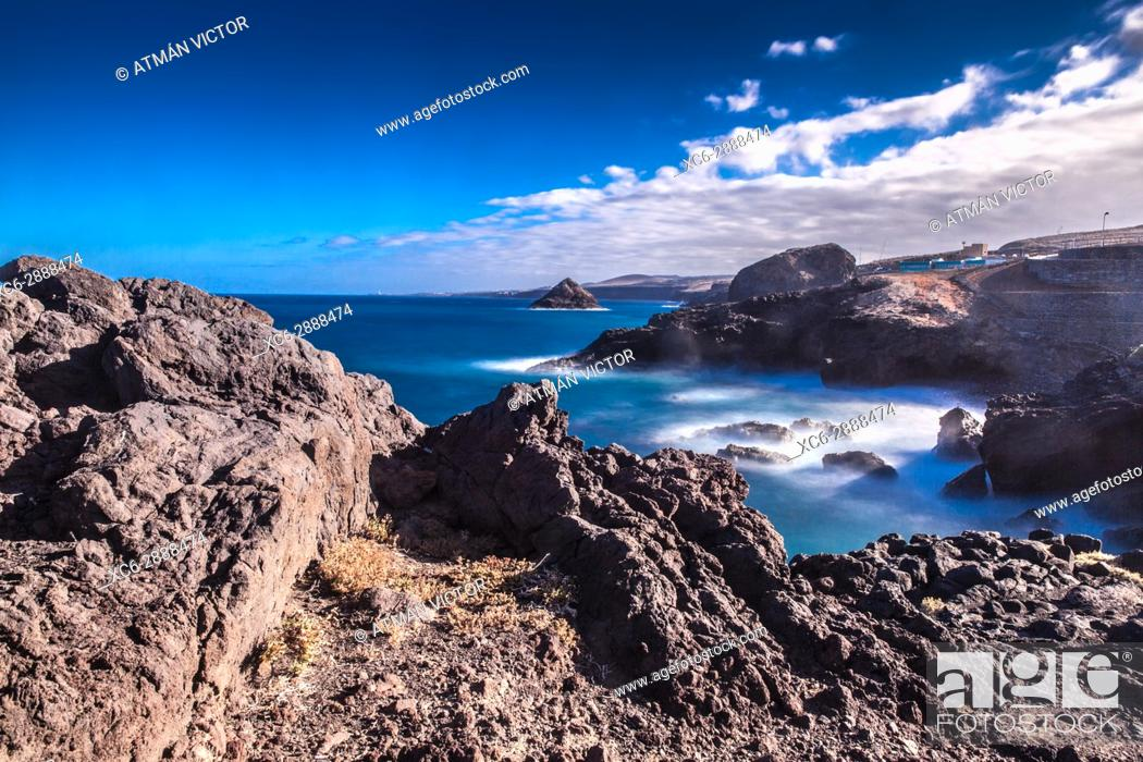 Stock Photo: Fasnia seascape. Tenerife island. Spain.