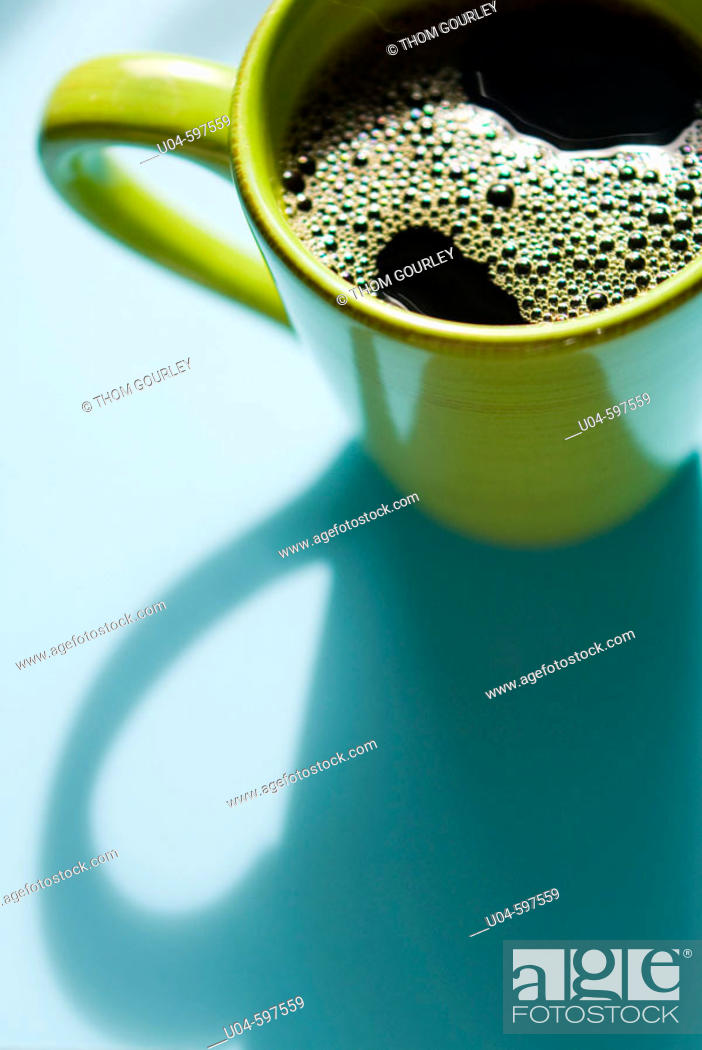 Stock Photo: Coffee cup.