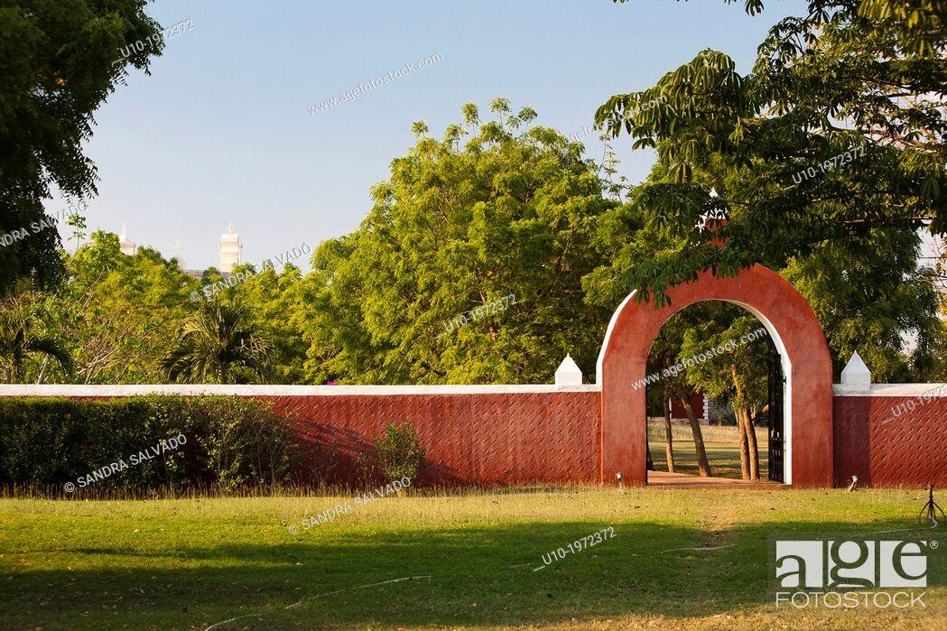 Photo de stock: Hacienda Sotuta de Peon, Tecoh, Yucatan, Mexico.