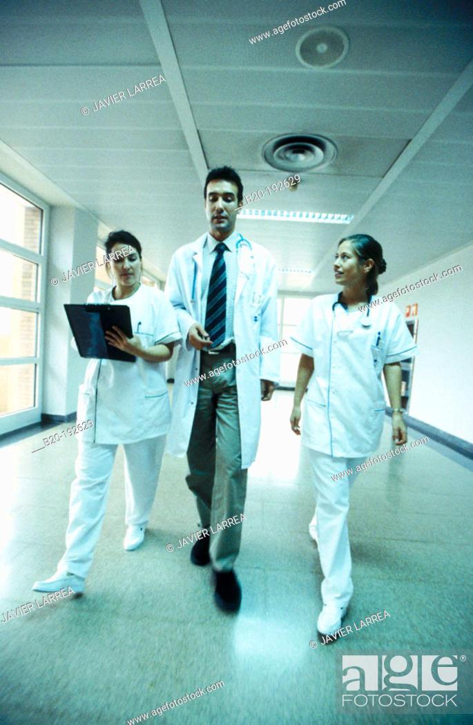 Stock Photo: Hospital.