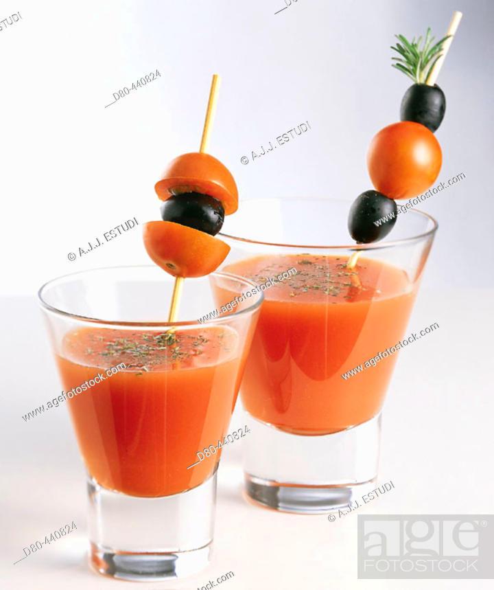 Stock Photo: Bloody Mary.