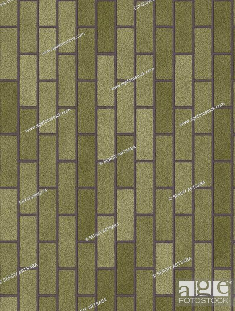 Stock Photo: old brick wall background.