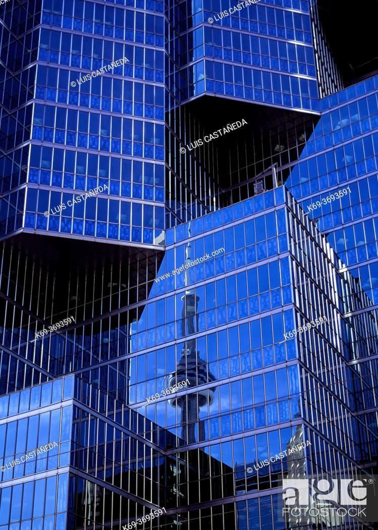Stock Photo: Downtown Buildings. Toronto. Canada.