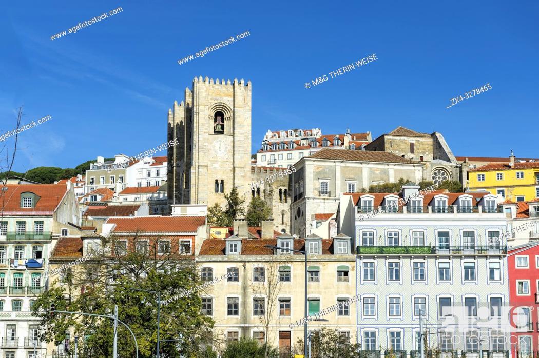 Imagen: Sé Cathedral, Alfama district, Lisbon, Portugal.