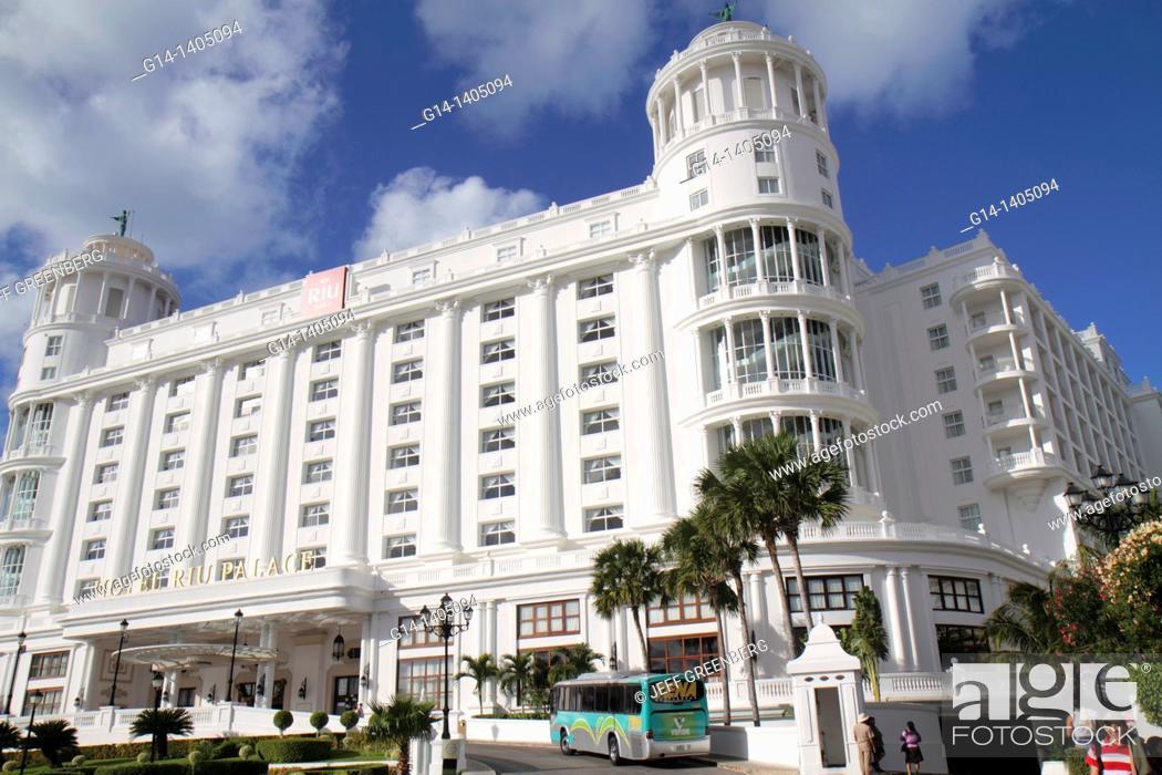 Mexico Yucatan Peninsula Quintana Roo Cancun Beach Hotel Zone
