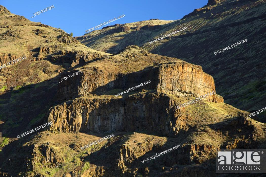 Imagen: Canyon slope, Deschutes Wild and Scenic River, Lower Deschutes National Back Country Byway, Oregon.