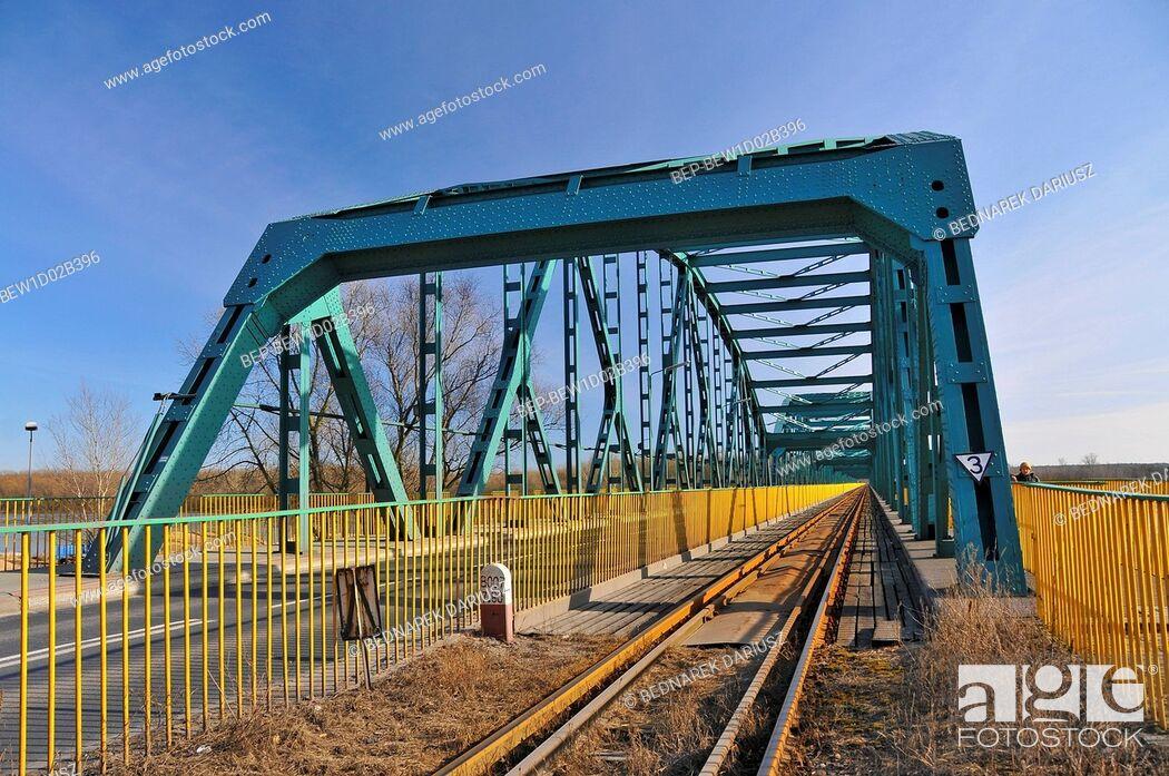 Imagen: The bridge of Rudolf Modrzejewski on the Vistula. Bydgoszcz, Kuyavian-Pomeranian Voivodeship, Poland.
