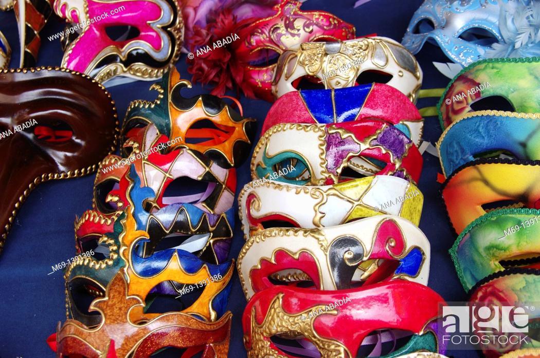 Stock Photo: Venetian Masks.