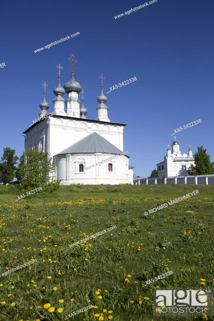 Imagen: Proiskhozhdenskya Church, Suzdal, Vladimir Oblast, Russia.